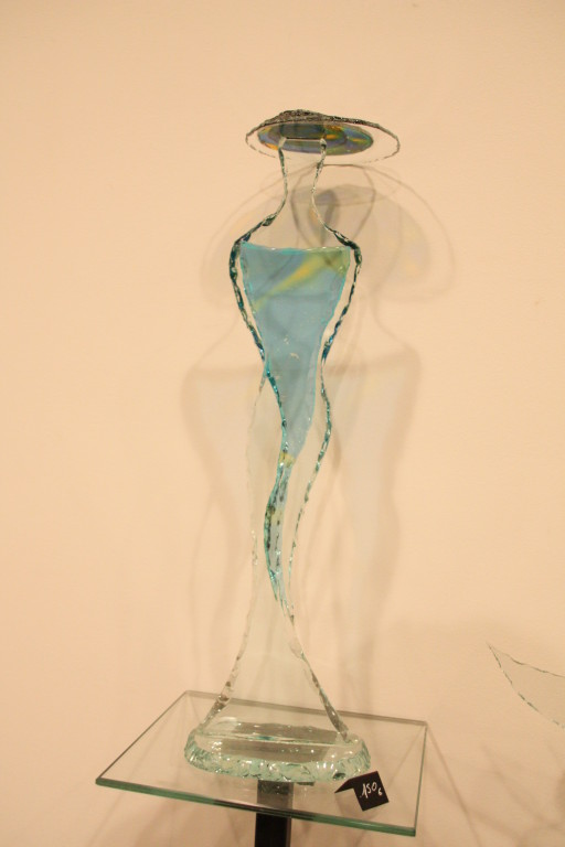 Les sculptures de verre de Jean luc LAMBRET