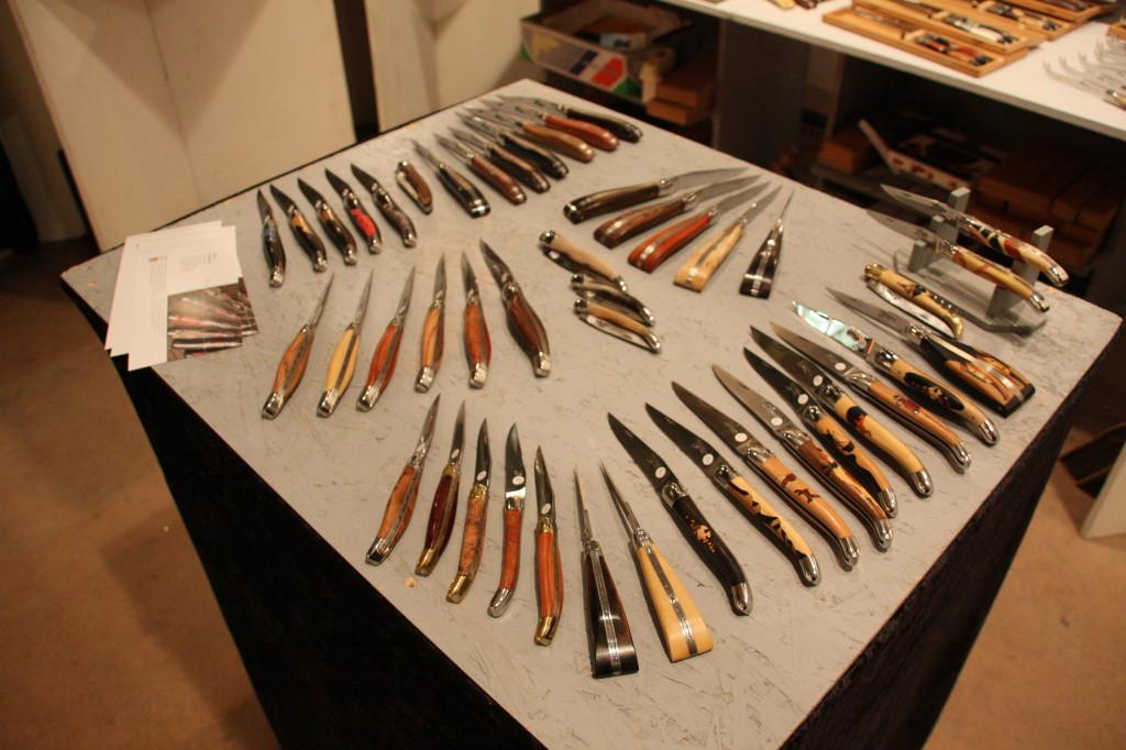 Les couteaux de l'Atelier du Réquista