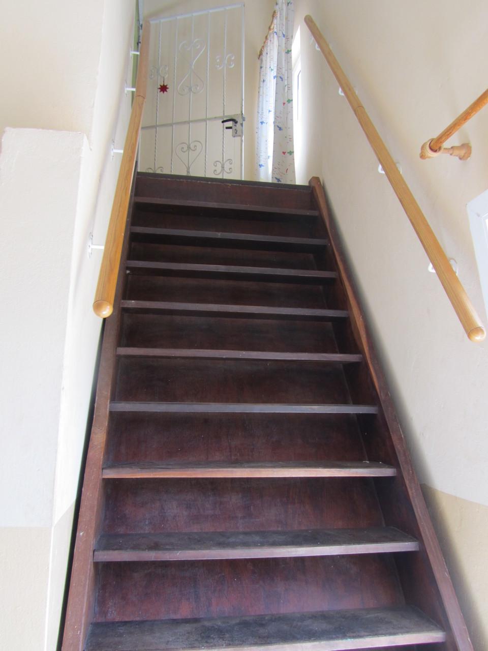 Treppe zum Eingang in eure Wohnung
