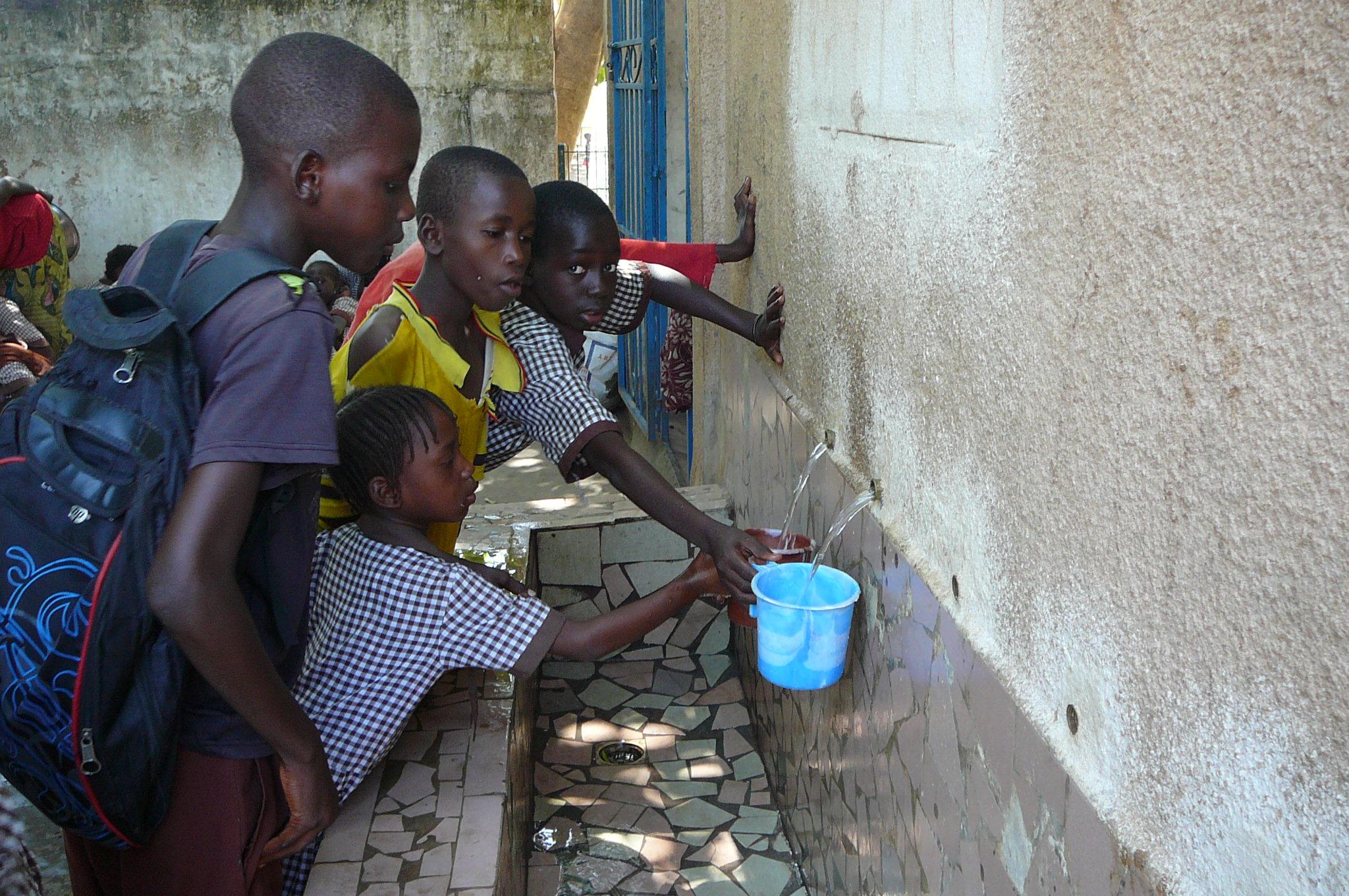 Sauberes Wasser zum Trinkenr