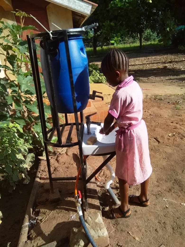 Handwäsche KLG Gambia