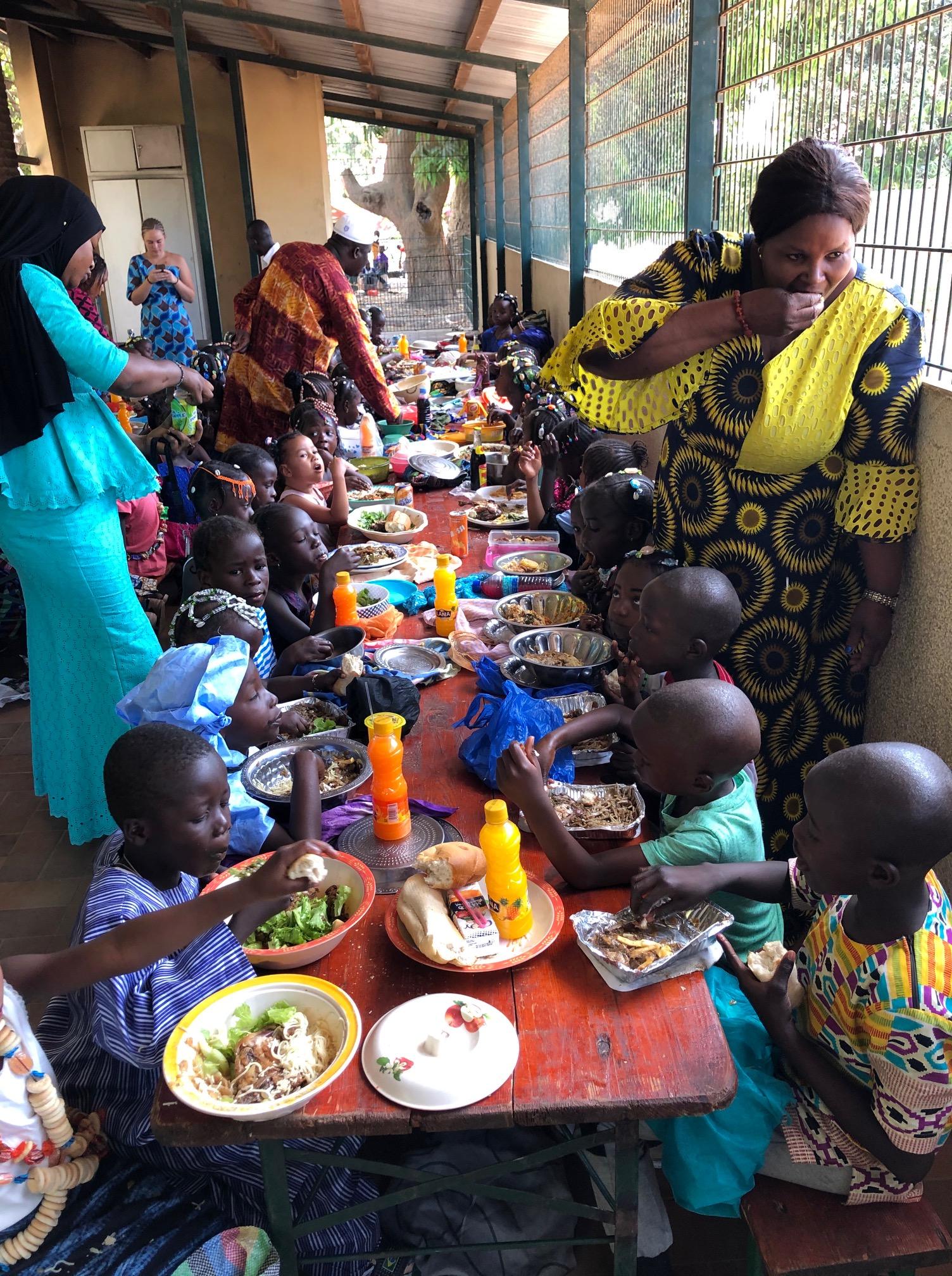 Ein Festmahl zum Commonwealth-Day