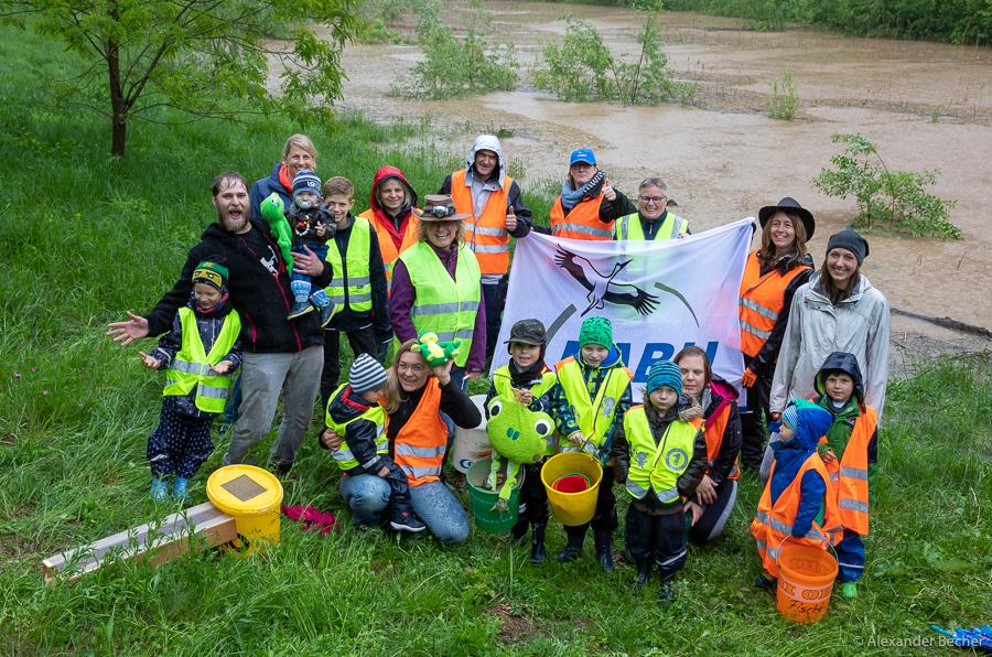 Das Amphibienteam. Foto: Alexander Becher