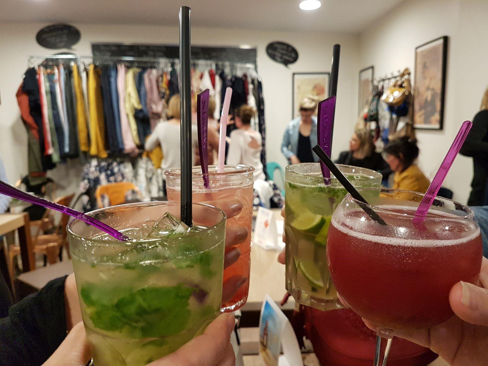 L'Atelier by Soif de Terroir : apéro shopping avec Mademoiselle Shop, cocktails avec et sans alcool