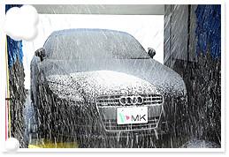 シャンプー洗車の画像