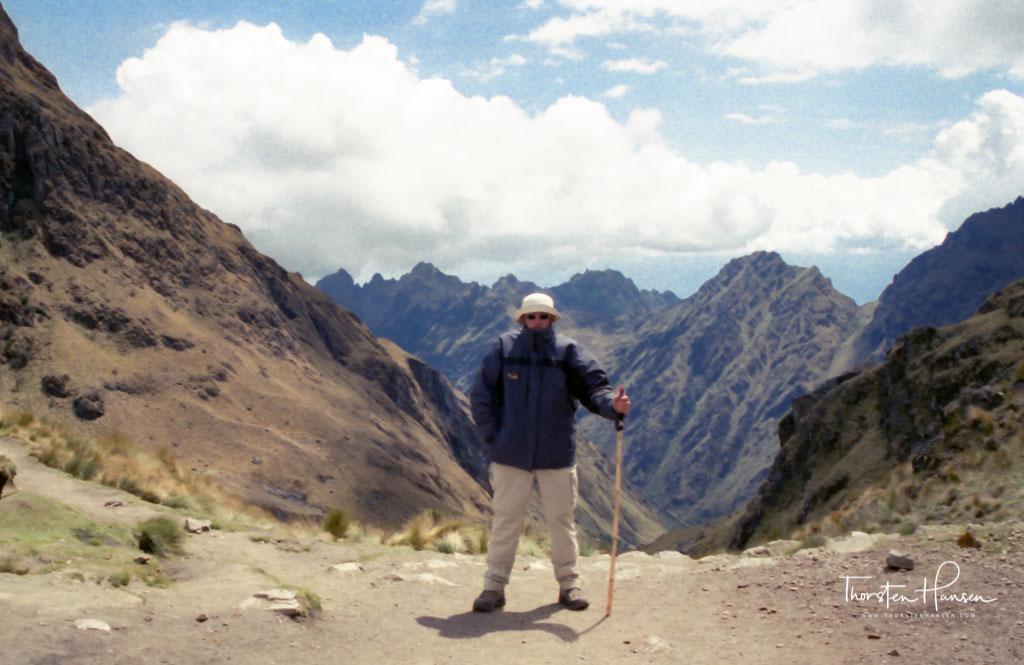 Erleben Sie mit dem Reiseleiter Thorsten Hansen, den Inka Trail nach Machu Piccu in Peru