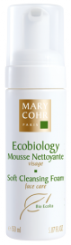 ECOBIOLOGY mousse nettoyante mary corps visage