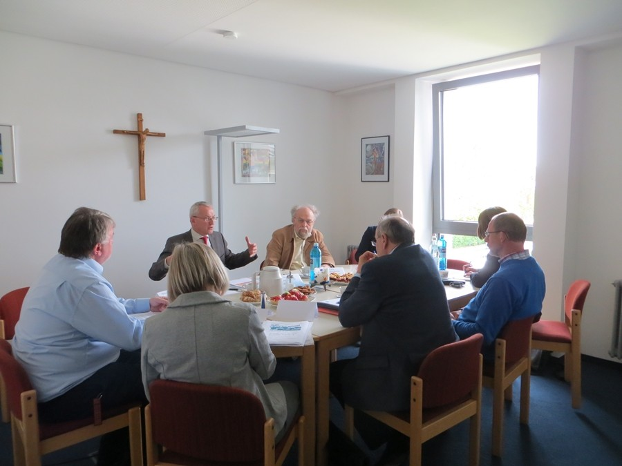 Pressegespräch mit dem Caritasdirektor der Ukraine, Andrij Waskowycz