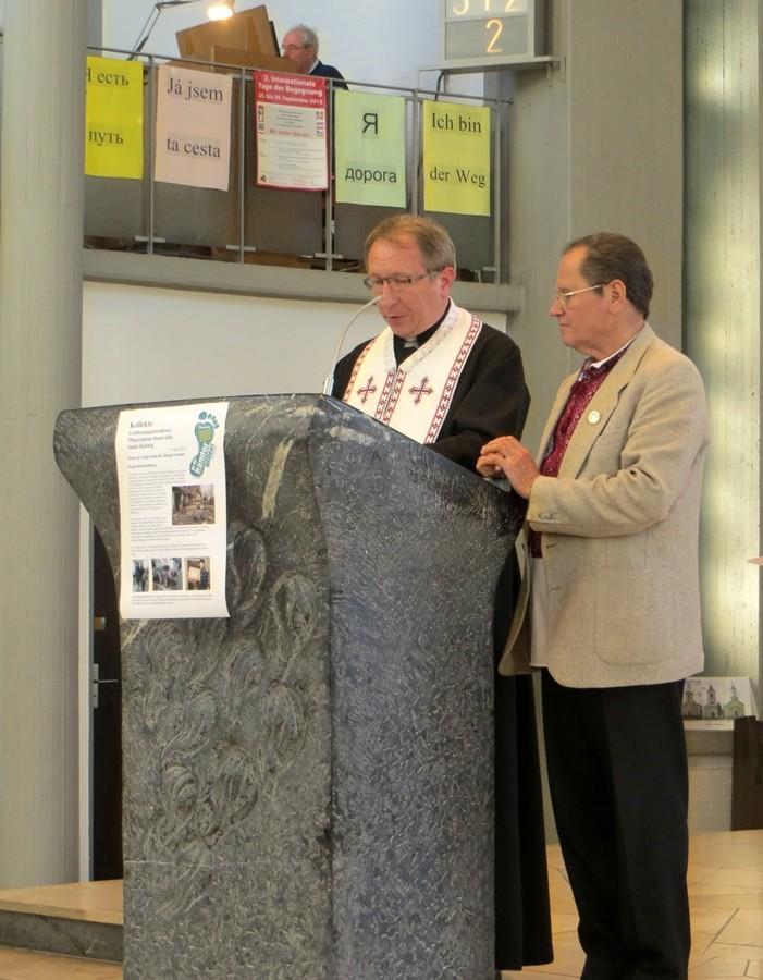 Pfarrer Roman Lirka von der ukrainischen Gemeinde