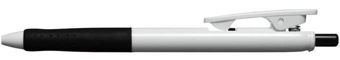 PILOTパティントボールペン(白軸)ブラック
