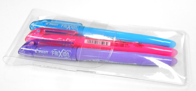 フリクションマーカーペンは3本セット2本セットで