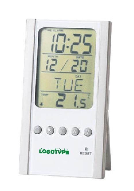 温度計付きカレンダークロック名入れ