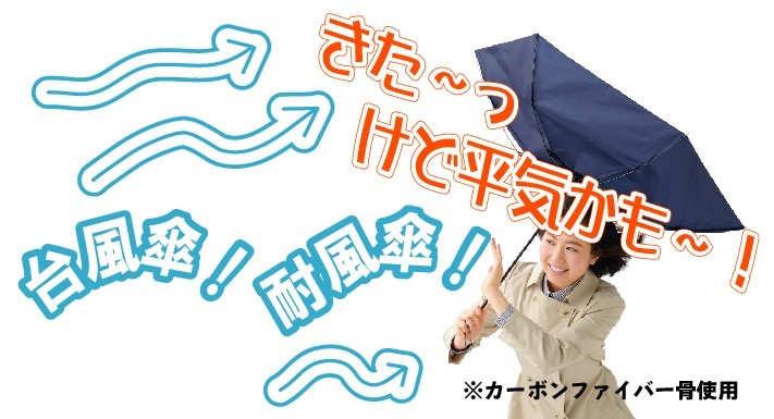 耐風傘名入れ
