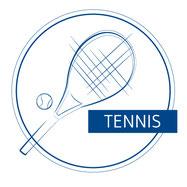 Tennisdoppel dürfen gespielt werden. Voraussetzungen: