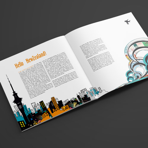 Neuseeland Booklet