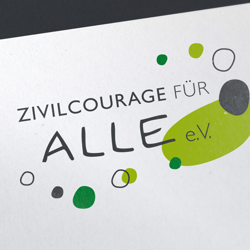 Logo Zivilcourage für ALLE