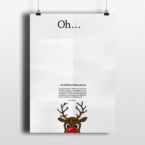 Plakat Weihnachten