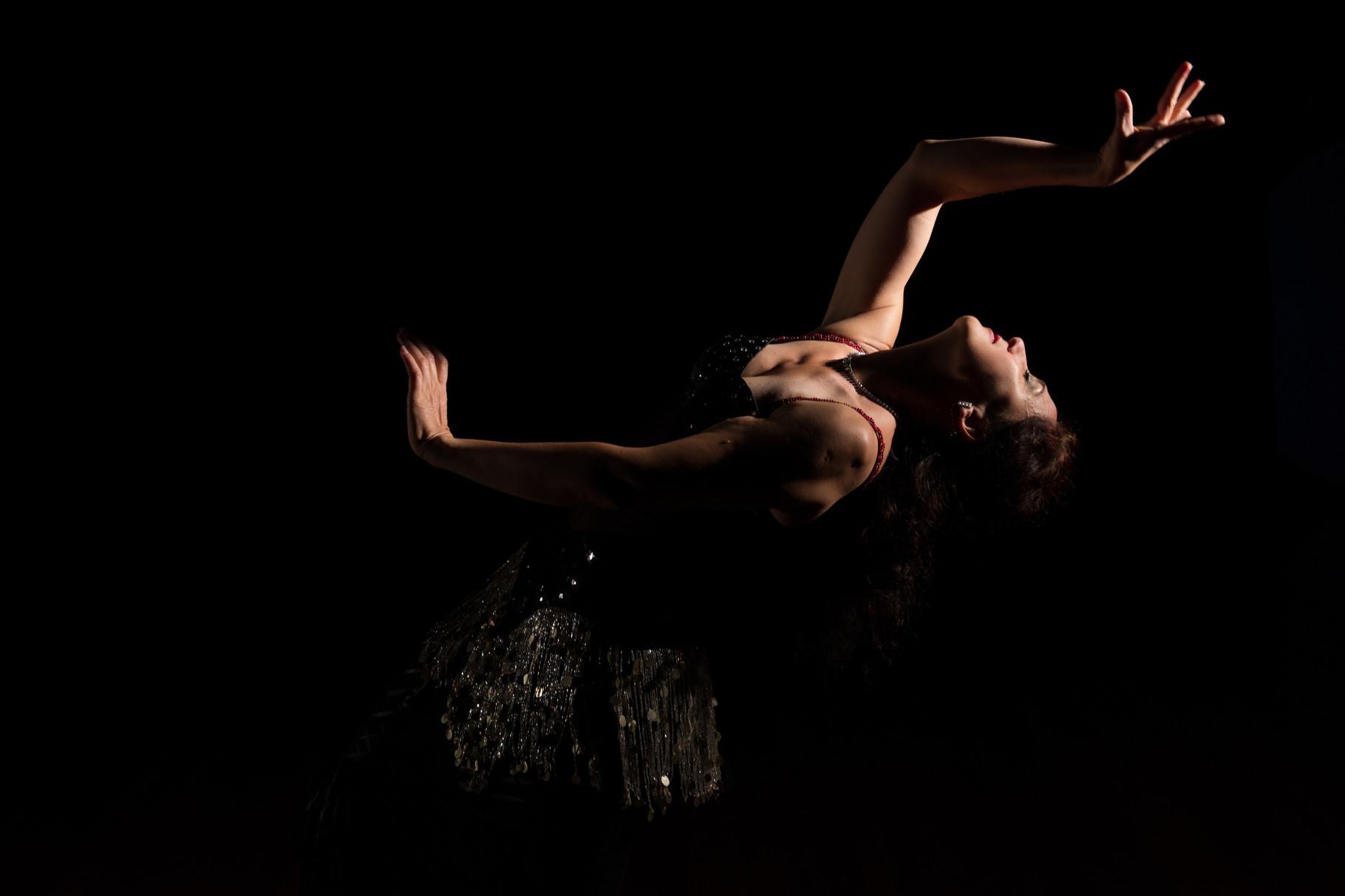 ...ergriffen... Nadja Ghazal, orientalischer Tanz in Bern und Thun