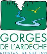 logo syndicat de gestion des gorges de l'Ardèche