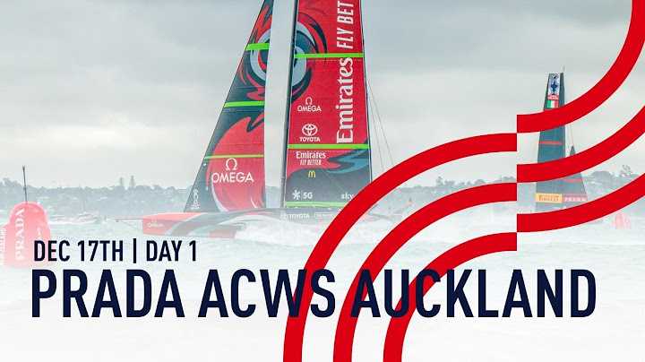 PRADA America's Cup World Series Auckland | Day 1
