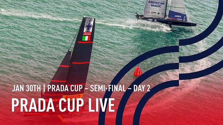 PRADA Cup - Halbfinale - Tag 2
