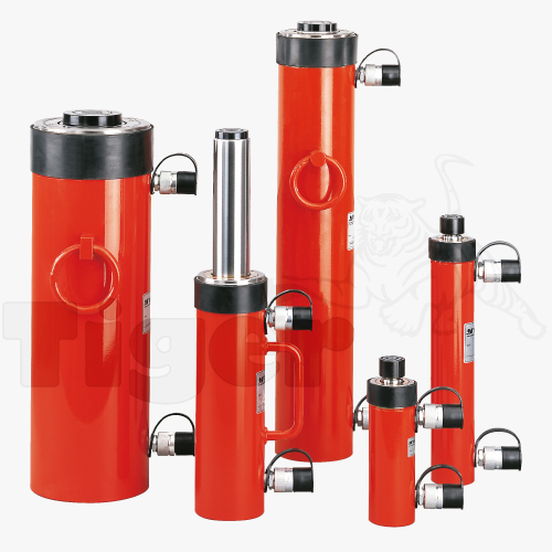 Doppeltwirkende Hydraulikzylinder