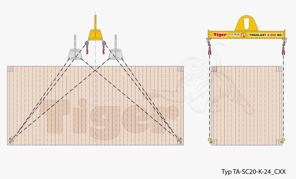 Containertraverse TA-SC20-K-24_CXX