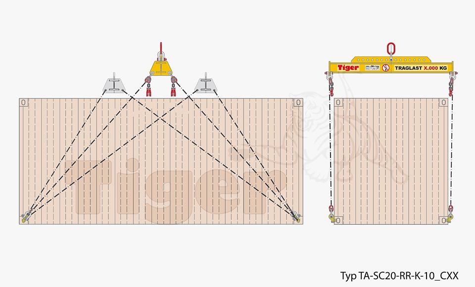 Containertraverse TA-SC20-RR-K-10_CXX