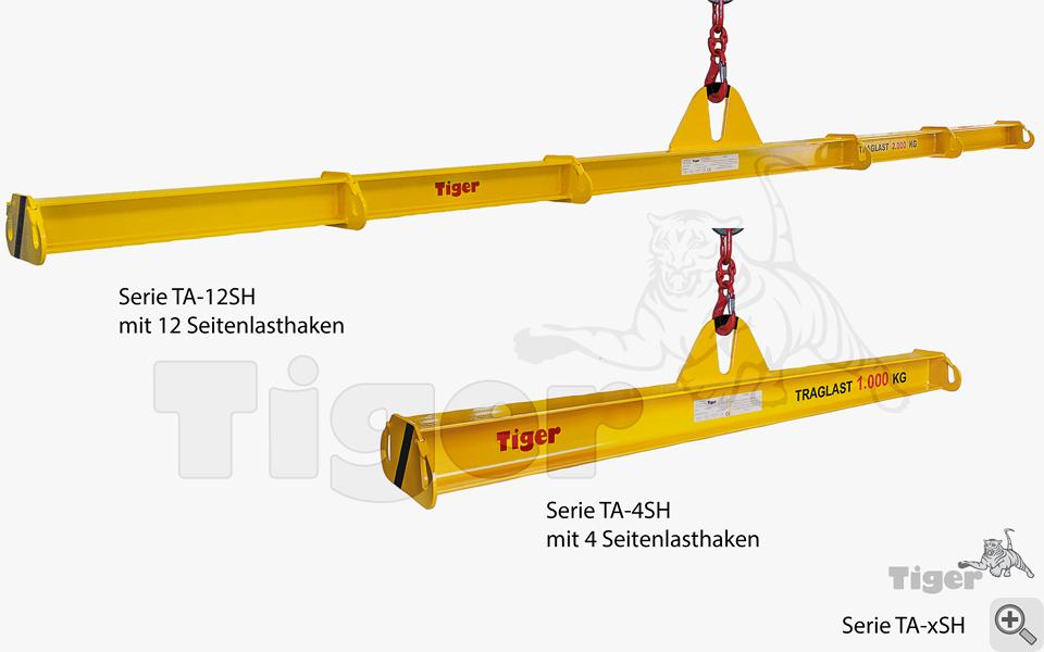 Balkentraverse TA-SH mit Seitenlasthaken