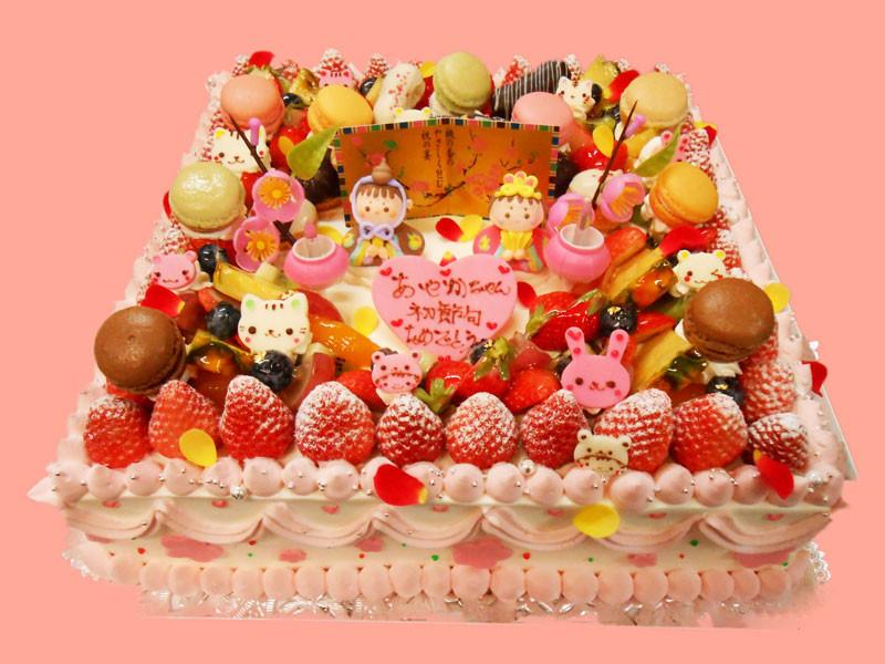 ひな祭りオーダーケーキ