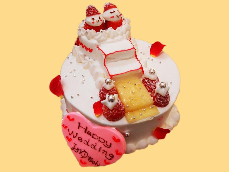 スーシェフのウェディングケーキ 最初の作品