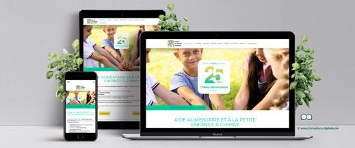 site internet gîte la mûre et l'olivier