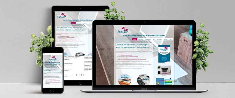 silassist a créé son site internet avec jimdo