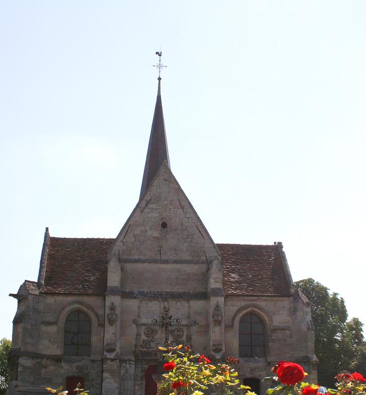 L'èglise de Blérancourt
