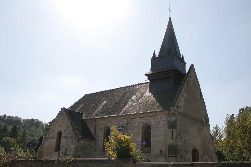 L'èglise de Blérancourdelle