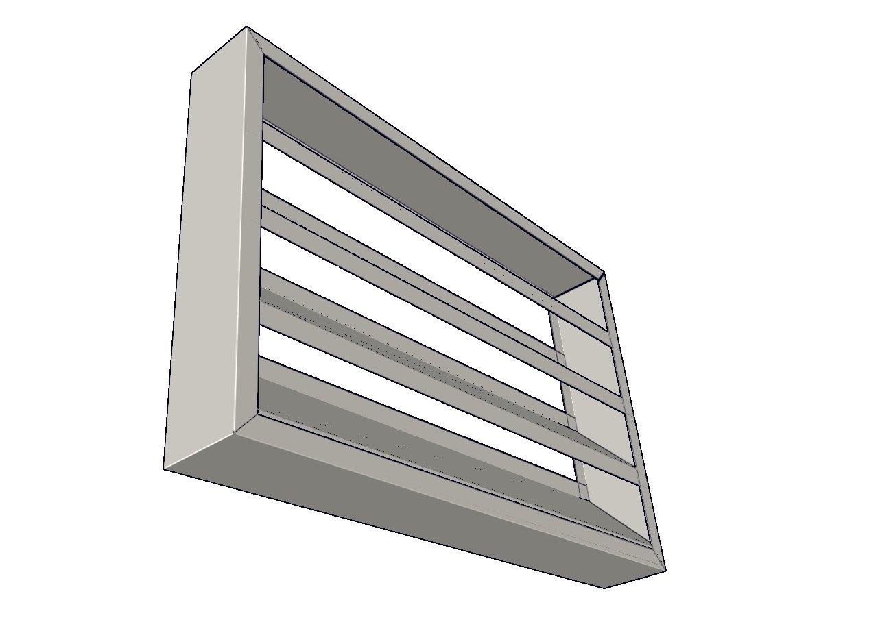Persianas de aire en aluminio