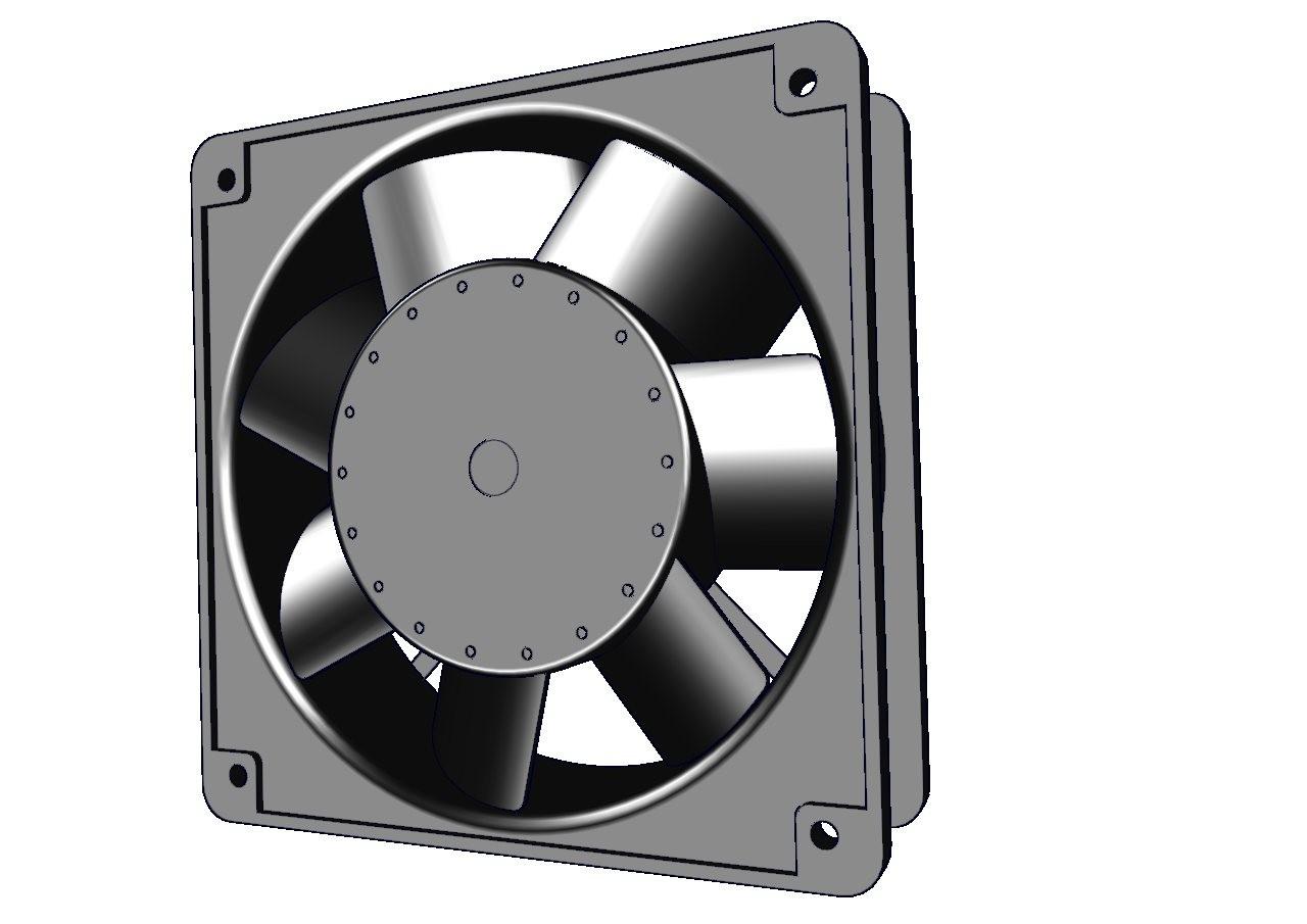 Ventilador Salzer, Ventilador para Tablero eléctrico en México