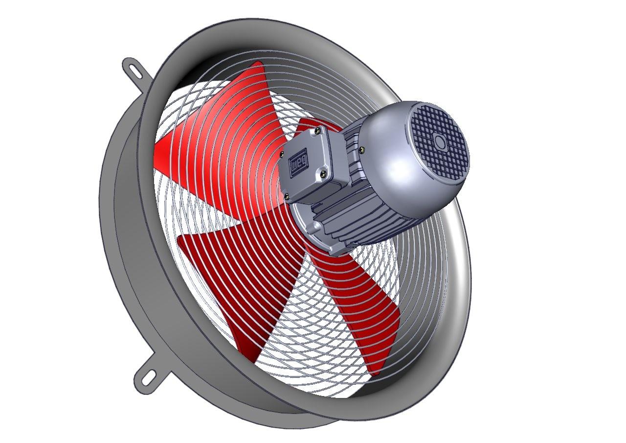 ventilador para transformadores