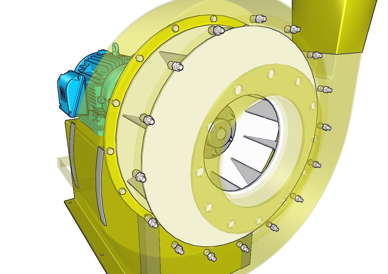 turbina de aire de aspas radiales - IFM
