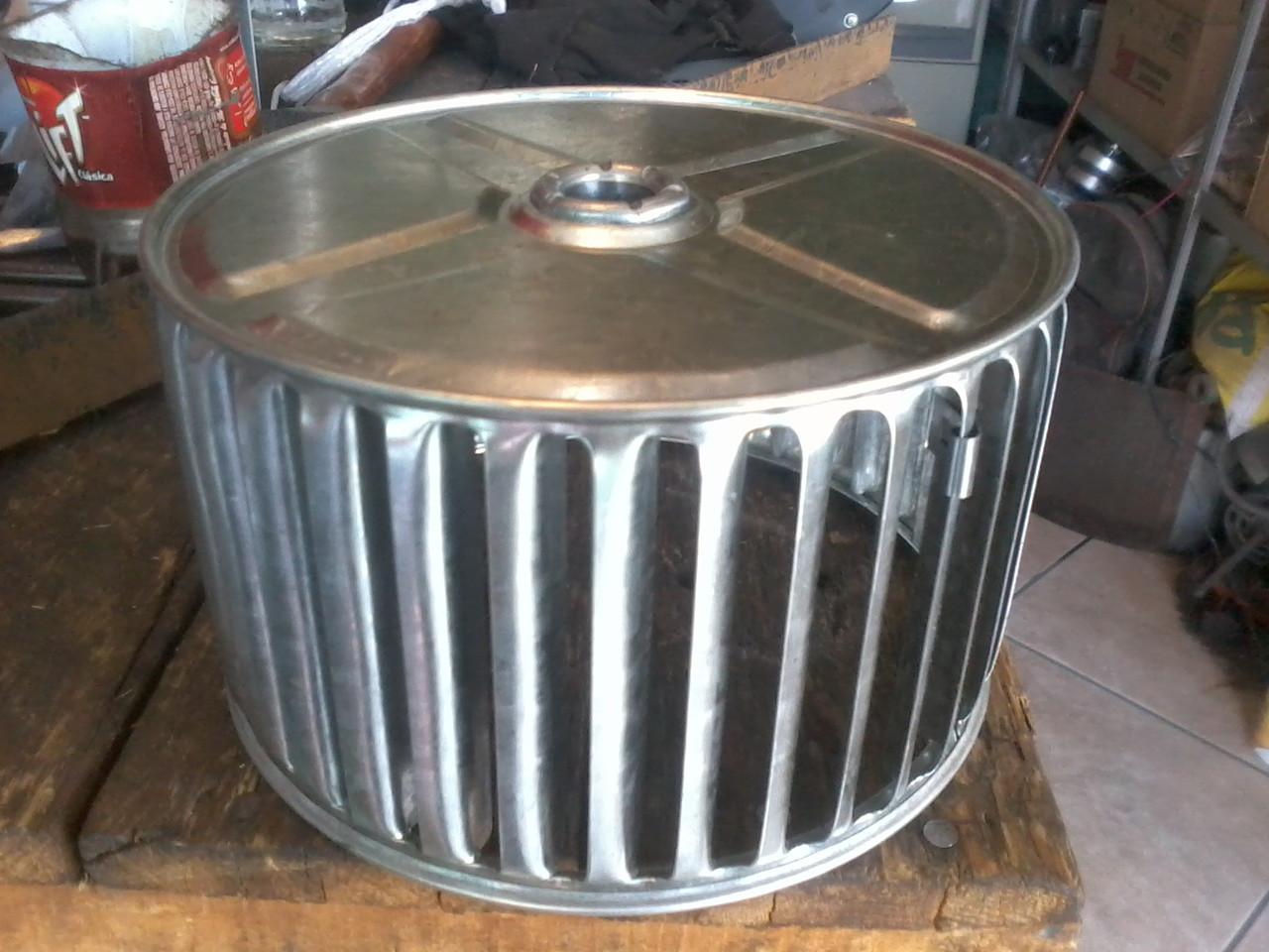 turbina de aluminio engargolada de simpre entrada