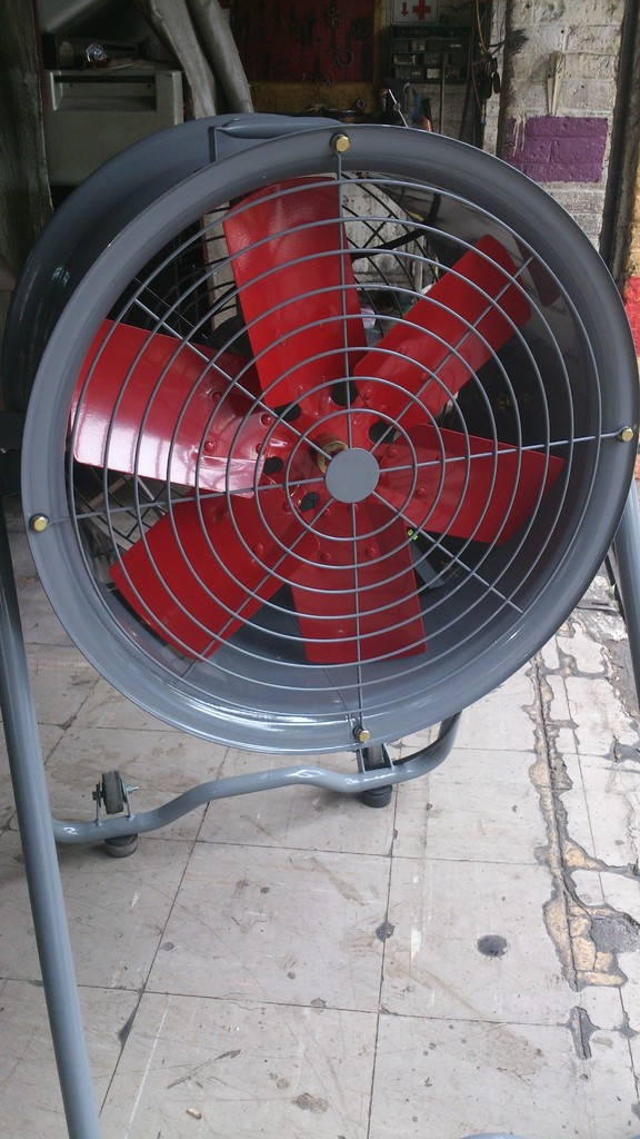 ventiladores industriales para granjas