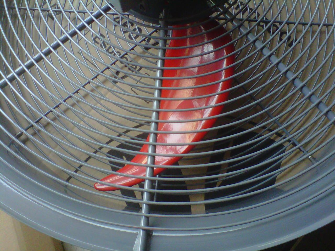ventilador con rejilla tipo OSHA
