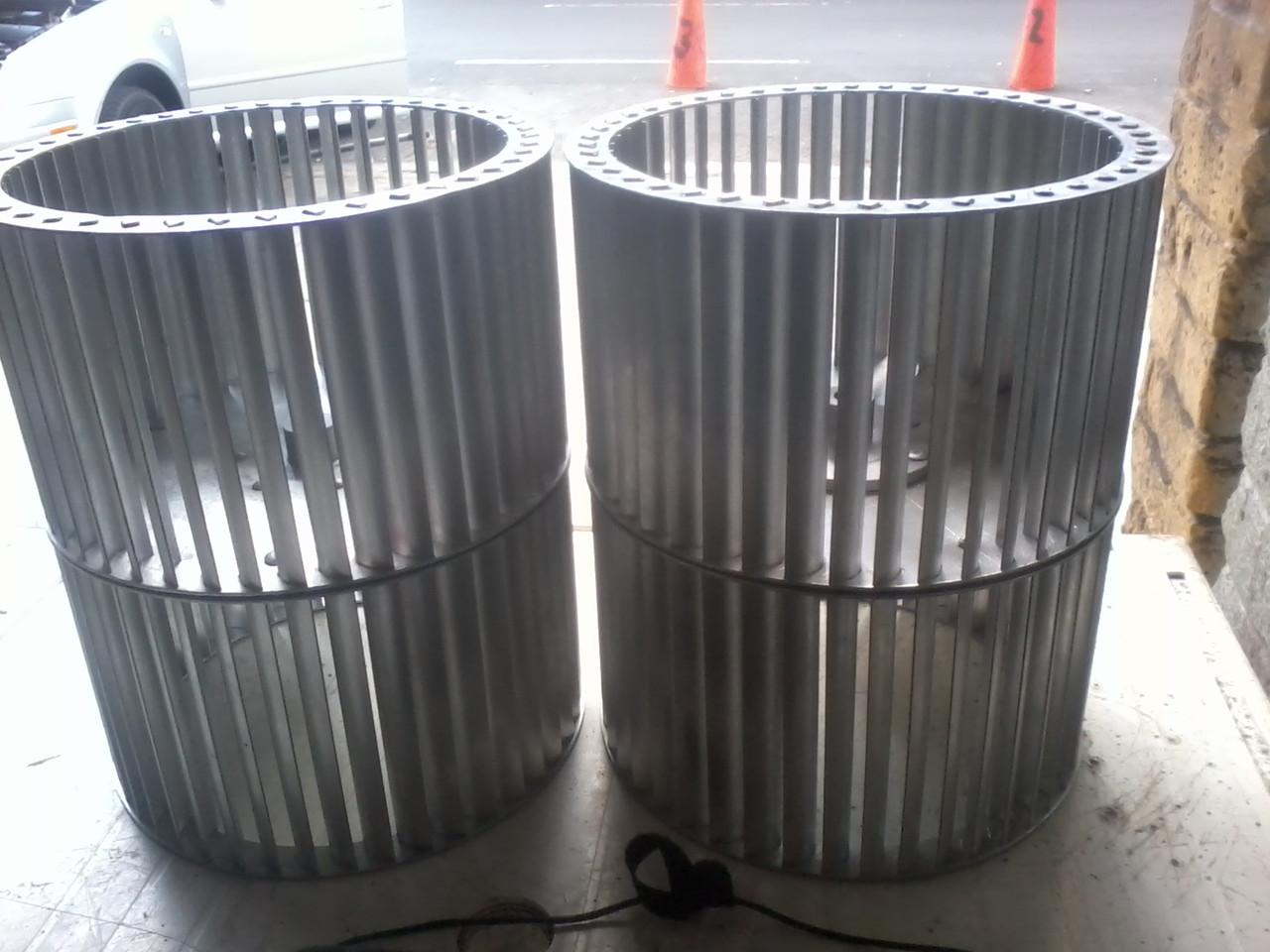turbinas de doble entrada en aluminio