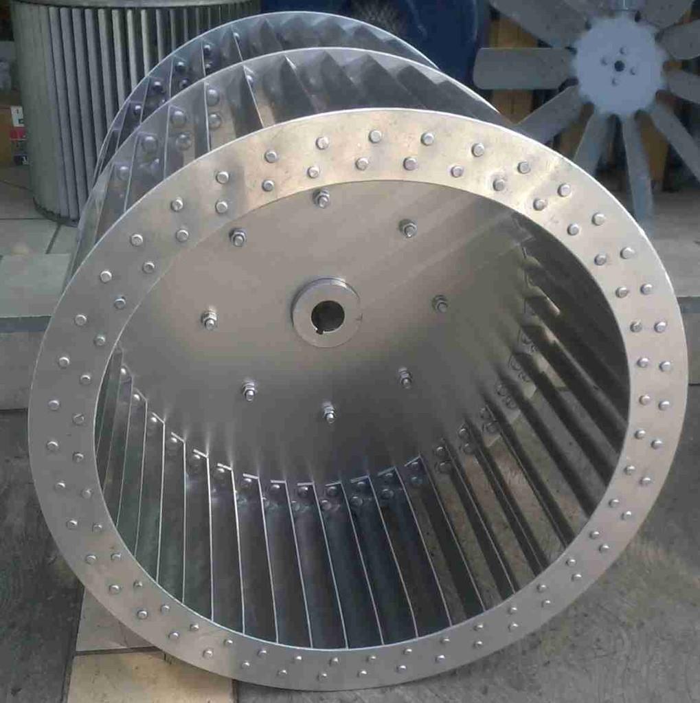 turbina con plato al centro