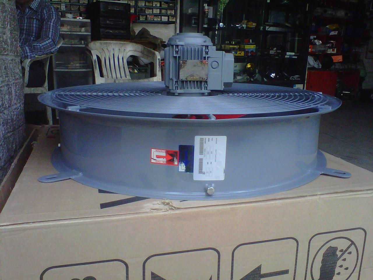 ventilador para radiador intercambiador de calor