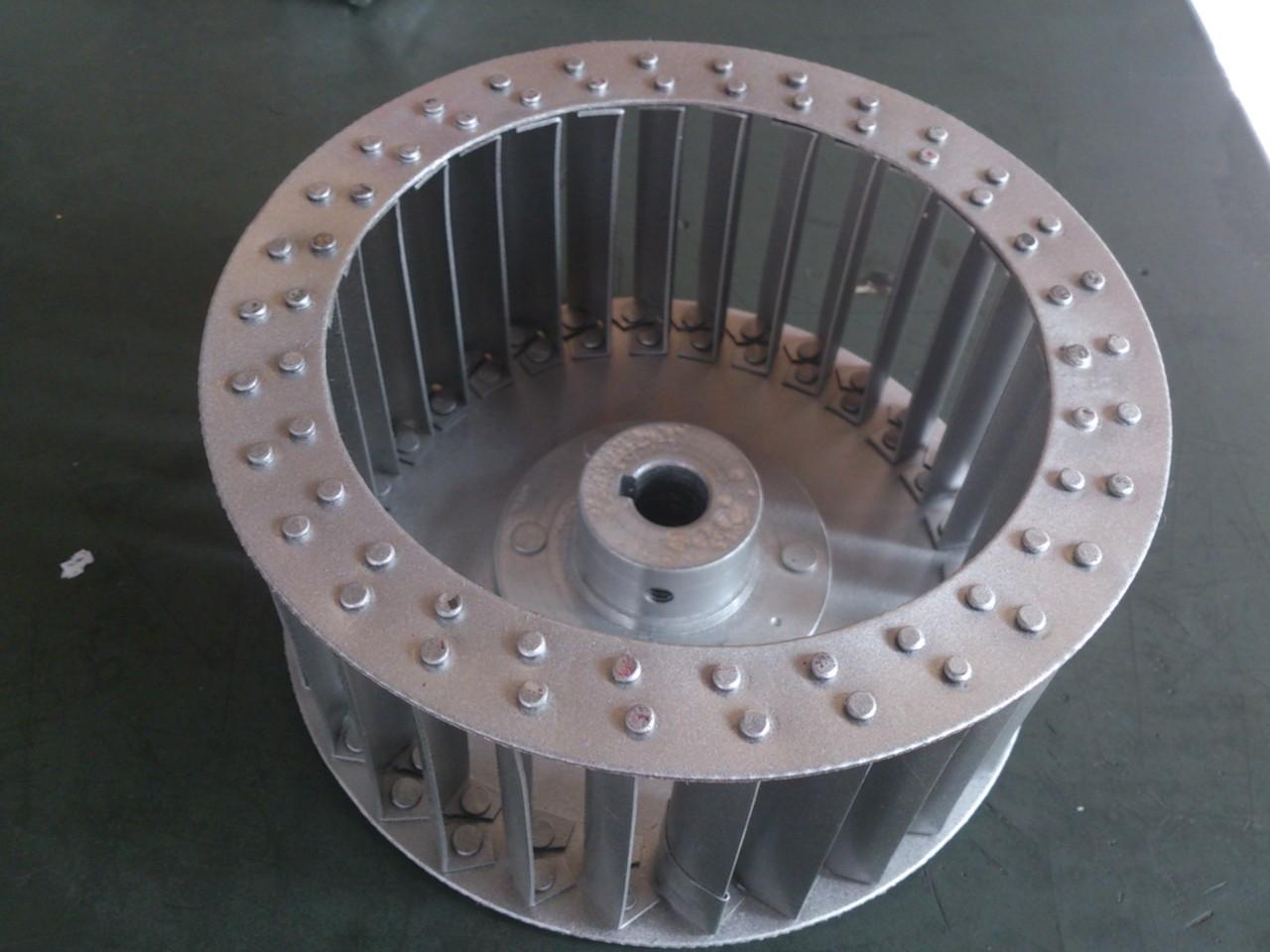 turbina de aire de uso industrial