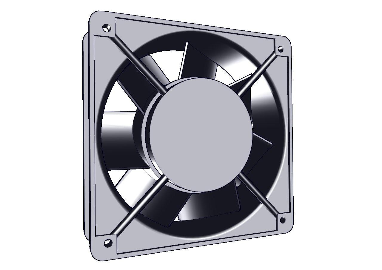 Ventilador de tablero, banco de capacitores