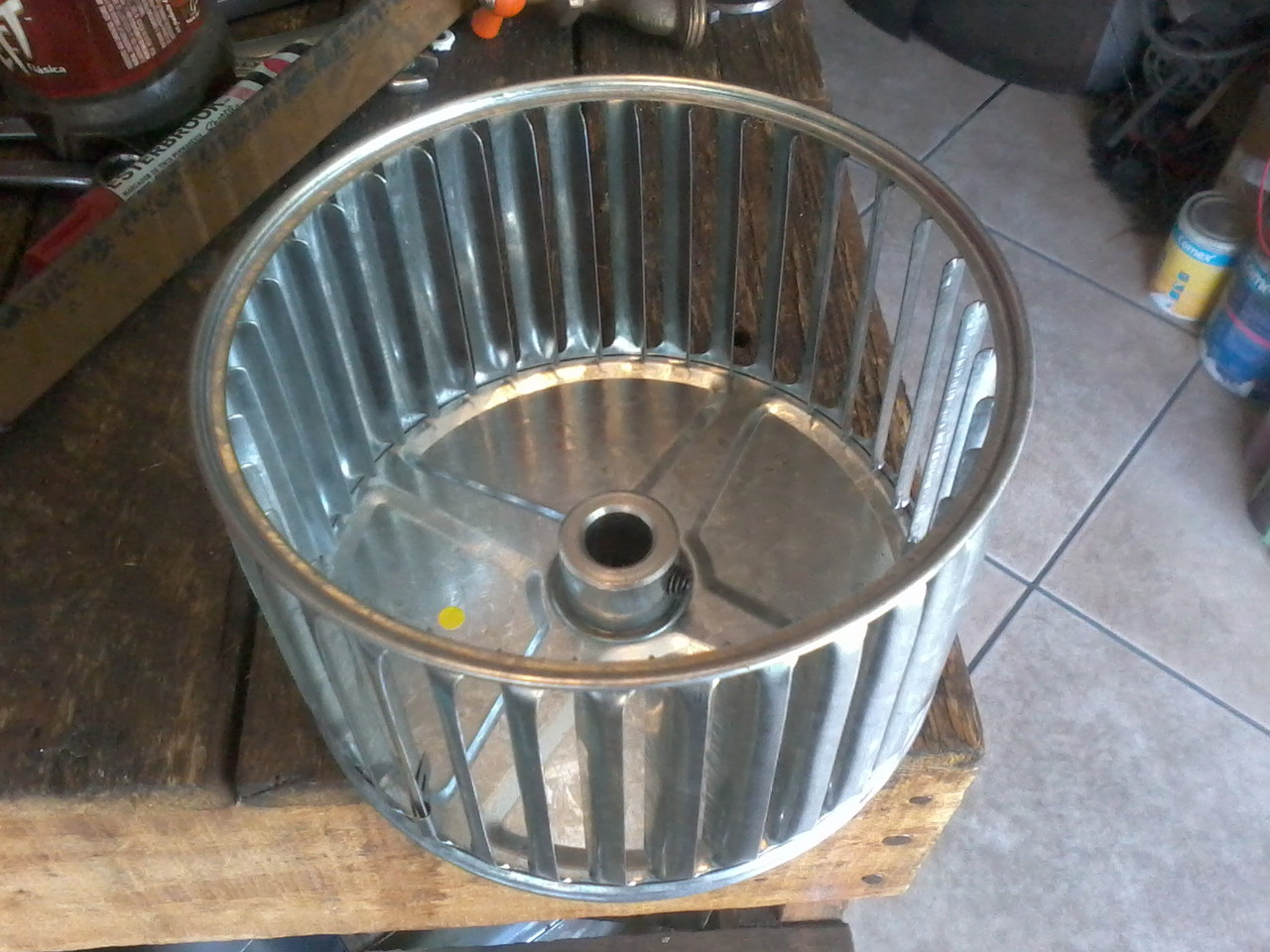Turbinas de aspas adelantas ventiladores industriales for Aspas para ventiladores