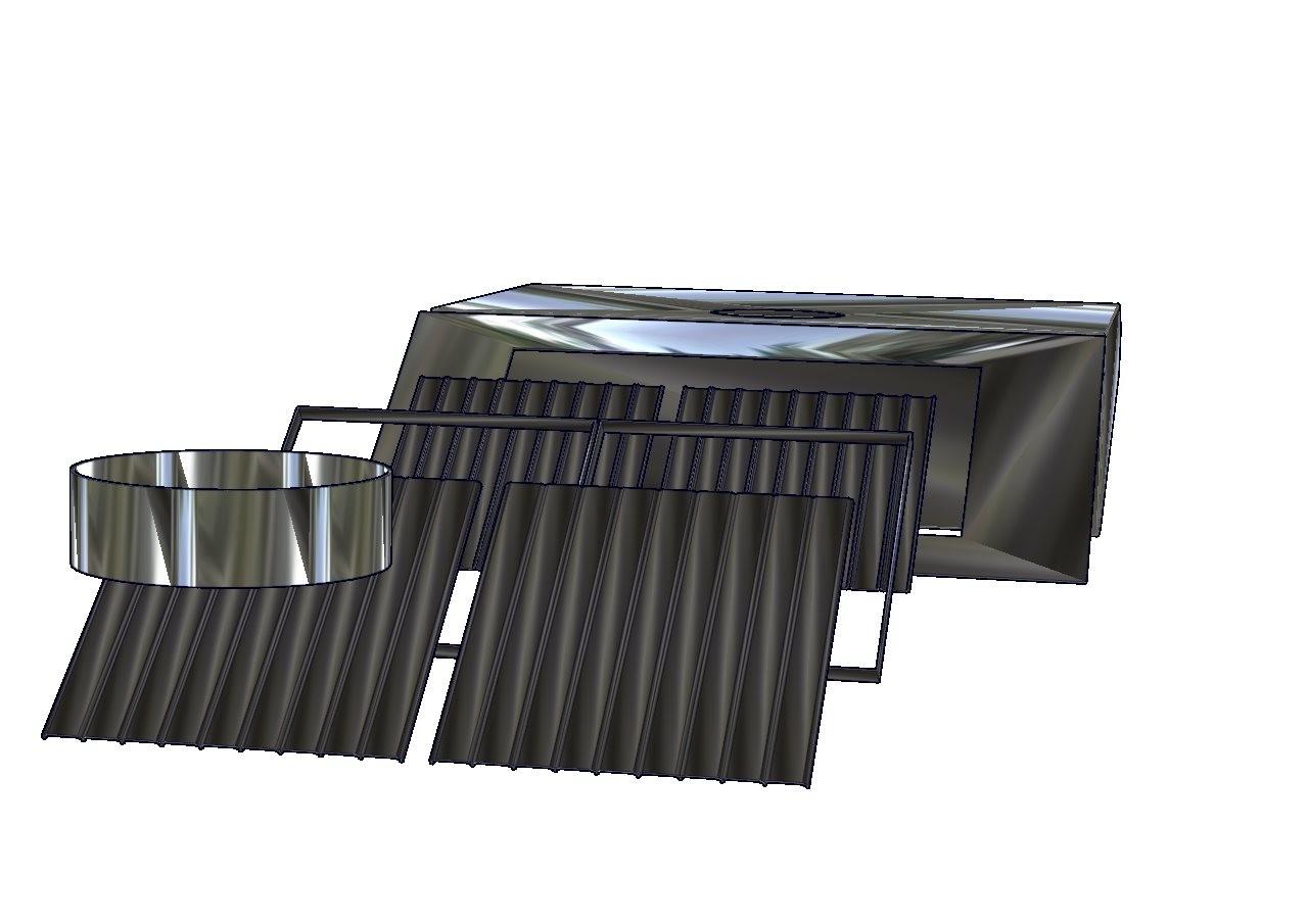 Campana de extracción con filtro inercial