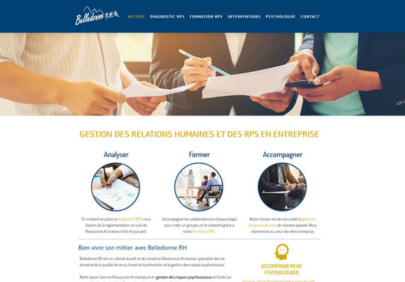 Site internet Belledonne RH